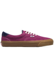 Vans purple OG era 59 LX suede leather sneakers