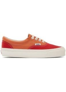 Vans Red & Orange OG Era LX Sneakers