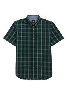 Vans Rockwood Plaid Woven Shirt (Big Boys)