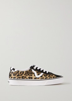Vans Sandy Liang Sport Printed Canvas, Suede And Leather Sneakers