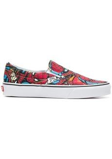 Vans Spider Man slip-on sneakers