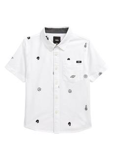 Toddler Boy's Vans Kids' Houser Short Sleeve Button-Up Shirt