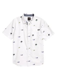 Boy's Vans Kids' Houser Button-Up Shirt