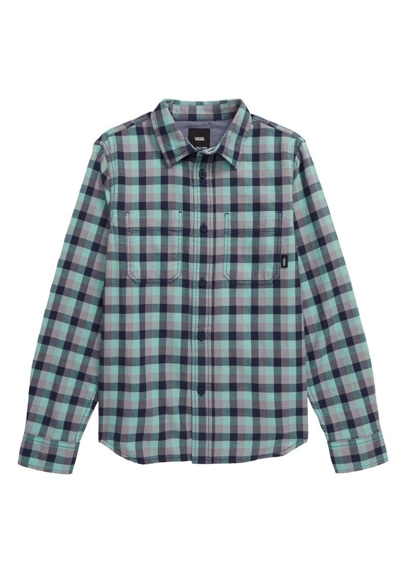 Vans Alameda II Flannel Button-Up Shirt (Big Boy)