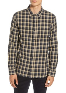 Vans Alameda II Tailored Fit Check Button-Up Flannel Shirt