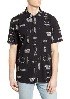 Vans Aldrich Short Sleeve Button-Up Shirt