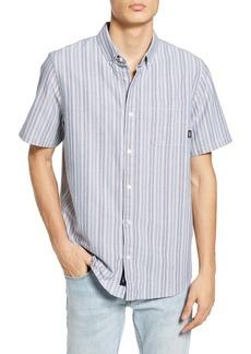 Vans Anton Stripe Short Sleeve Oxford Button-Down Shirt