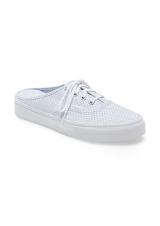 Vans Authentic Mini Checkerboard Mule Sneaker (Women)