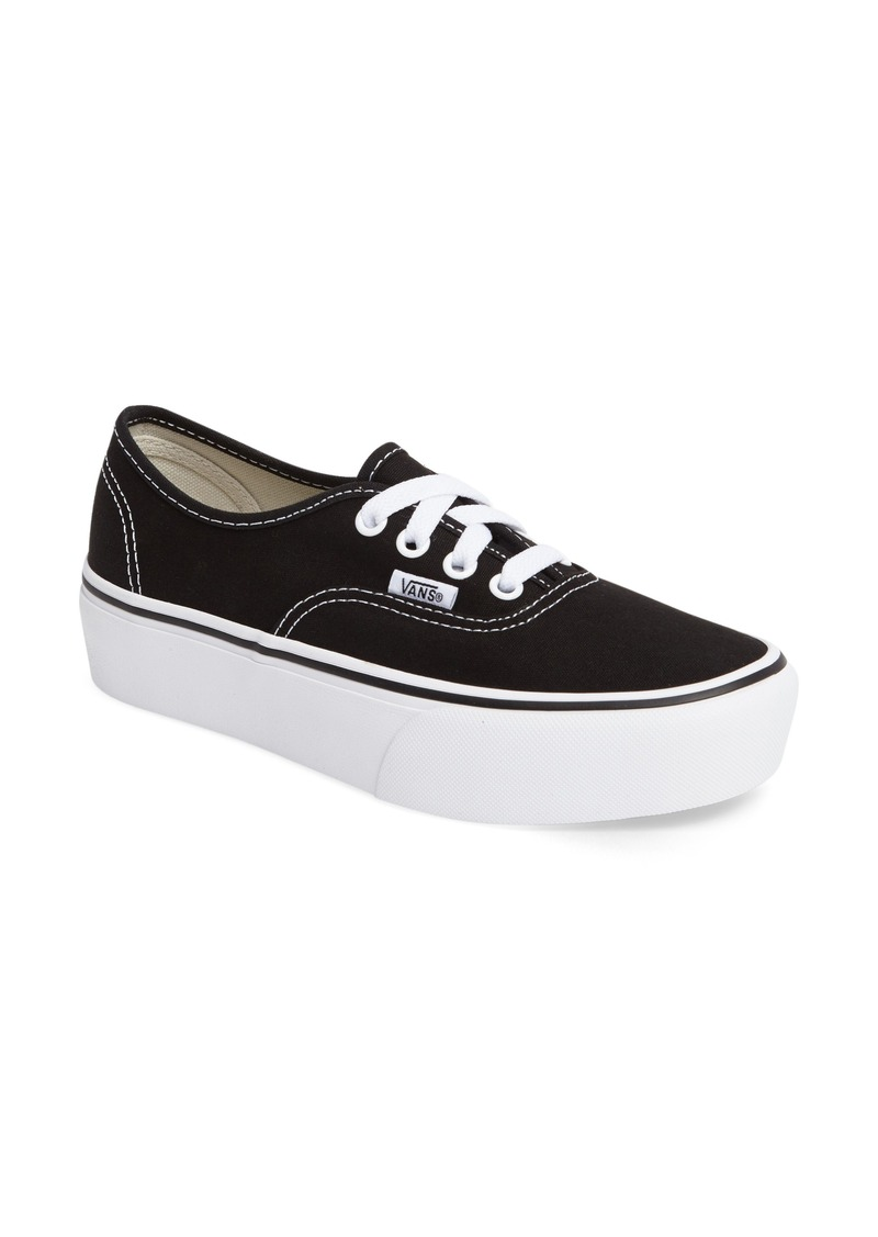 Vans 'Authentic' Platform Sneaker (Women)