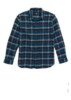 Vans Banfield II Plaid Flannel Shirt (Big Boys)