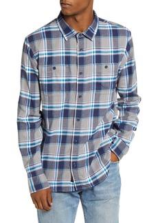 Vans Banfield III Plaid Button-Up Flannel Shirt