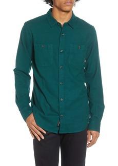 Vans Banfield III Solid Button-Up Twill Shirt