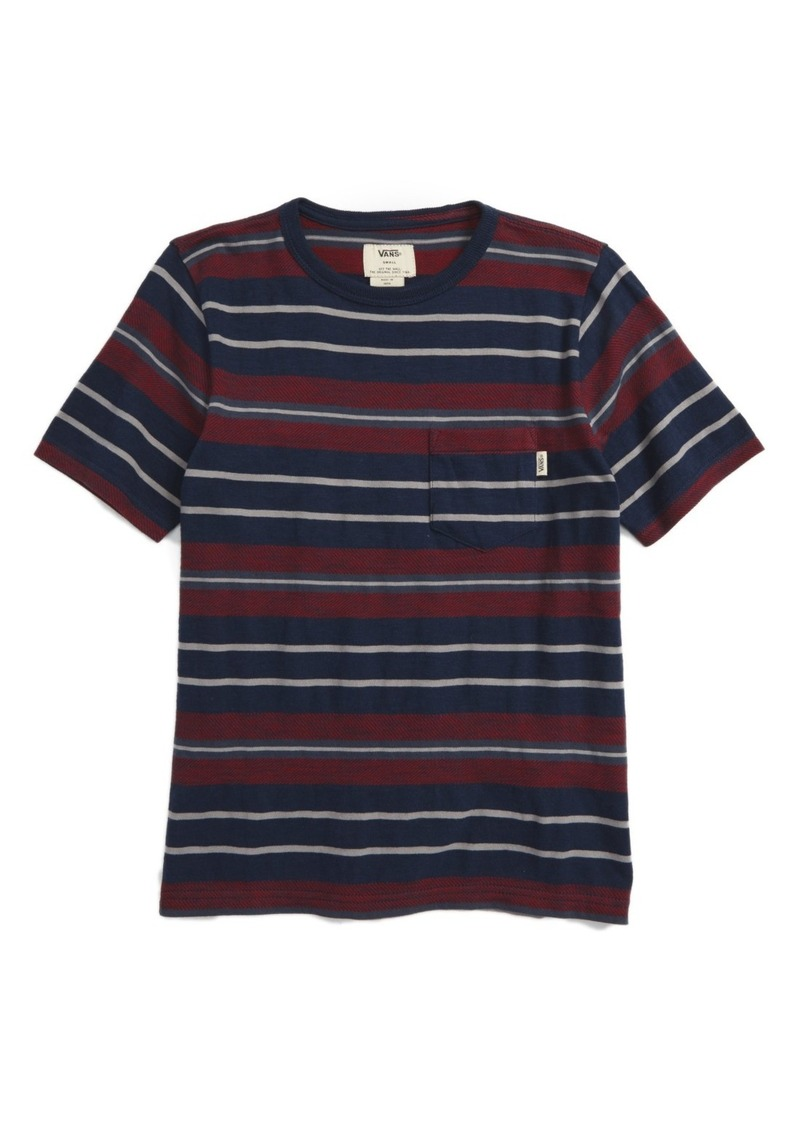 Vans Barrington Stripe T-Shirt (Big Boys)