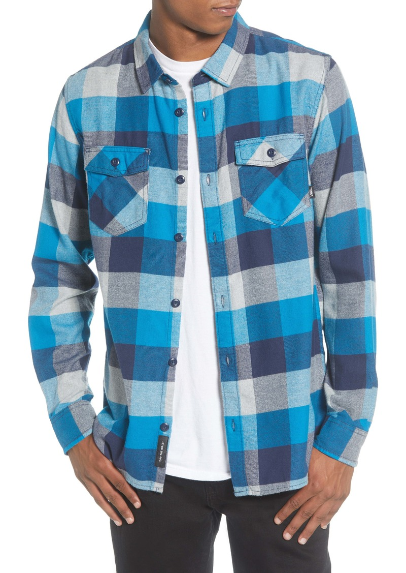 Vans Box Button-Up Flannel Shirt