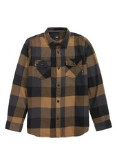 Vans Box Check Flannel Shirt (Big Boys)