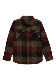 Vans Box Check Flannel Shirt (Toddler Boys & Little Boys)