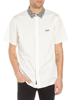 Vans Check Collar Short Sleeve Shirt
