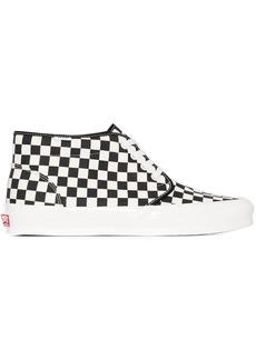 Vans checkerboard-print high-top sneakers