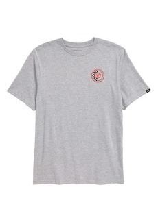 Vans Checker Circle Graphic T-Shirt (Big Boys)