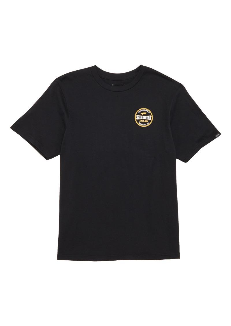 3eced2978931 Vans Vans Checkerboard Co. Logo T-Shirt (Big Boys) | Tshirts