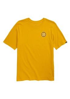 Vans Checkered Stripe Logo T-Shirt (Big Boys)