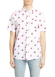 Vans Cherries Short Sleeve Button-Up Shirt