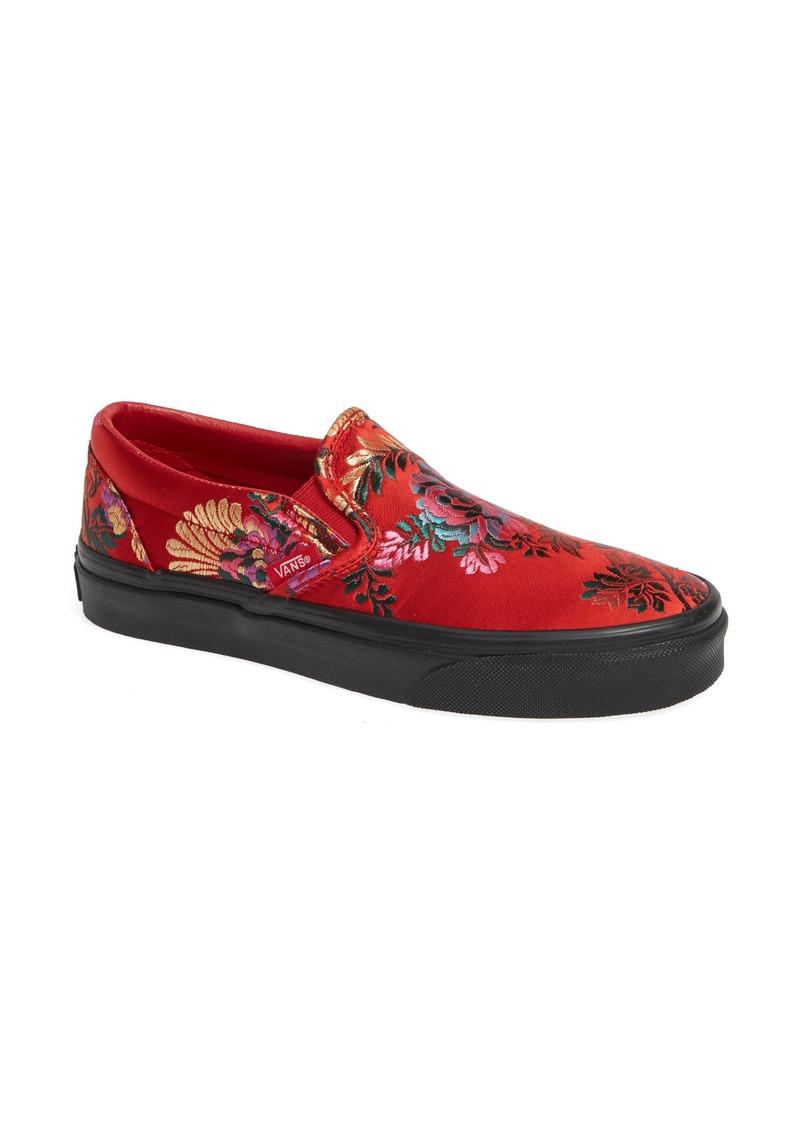 e92c869fb6b1 Vans Vans Classic Embroidered Satin Slip-On Sneaker (Women)