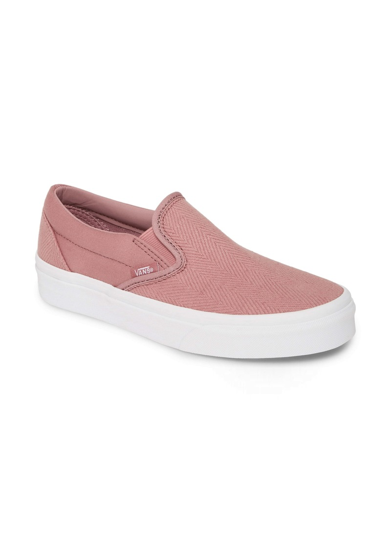 Vans Classic Herringbone Slip-On Sneaker (Women)