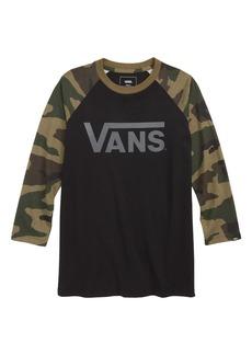 Vans Classic Raglan T-Shirt (Big Boys)