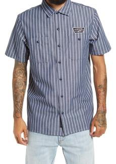 Vans Coleman Stripe Short Sleeve Button-Up Shirt