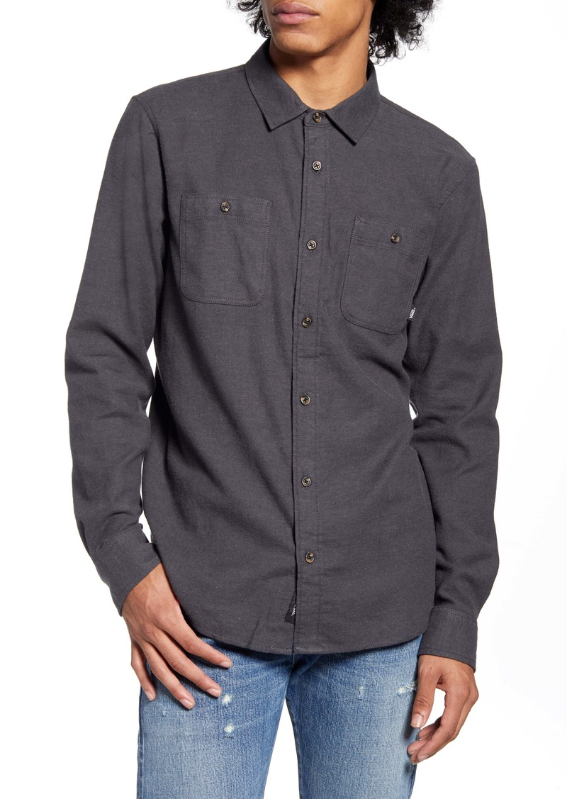 Vans Desert Trip Tailored Fit Button-Up Shirt
