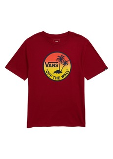 Vans Dual Palm Gradient Graphic T-Shirt (Big Boys)