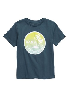 Vans Dual Palm Graphic Tee (Toddler & Little Boy)