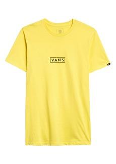 Vans Easy Box Logo Graphic Tee