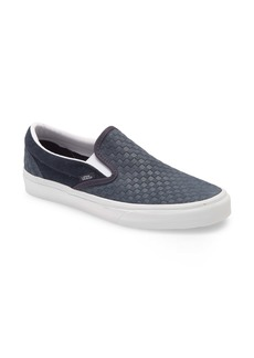 Vans Embossed Mini Check Classic Slip-On Sneaker (Men)