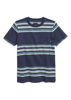 Vans Exton Stripe Pocket T-Shirt (Toddler & Little Boy)