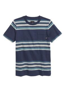 Vans Exton Stripe T-Shirt (Big Boy)