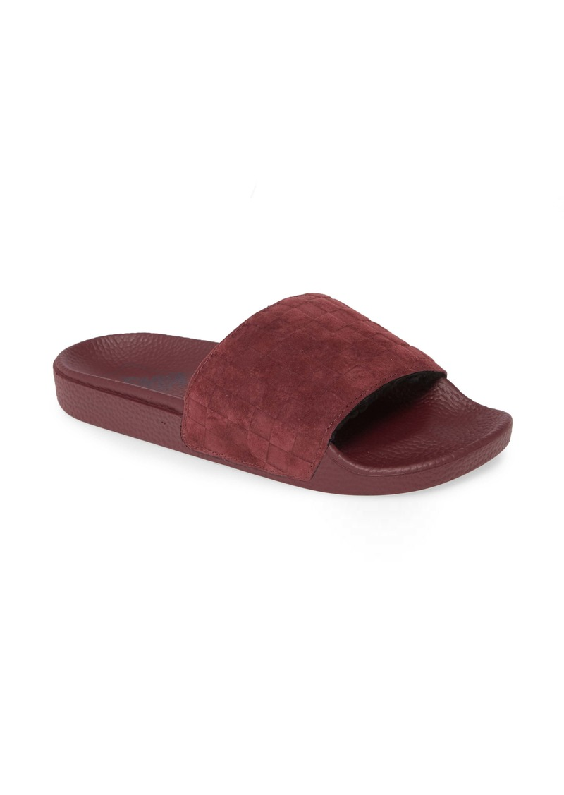 Vans Faux Fleece Lined Suede Sport Slide (Women)