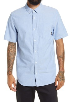 Vans Gibbon Classic Fit Short Sleeve Button-Down Shirt