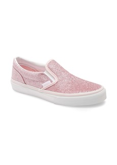 Vans Glitter Slip-On Sneaker (Big Kid)