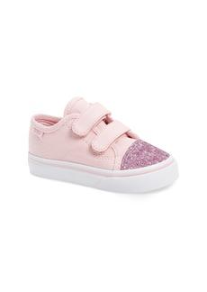 Vans Glitter Toe Style 23 V Sneaker (Baby, Walker & Toddler)