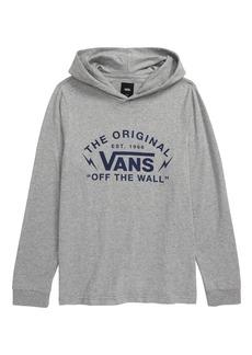 Vans Graphic Hooded Shirt (Big Boys)