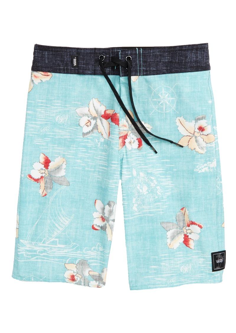 e76a9a50d7 Vans Vans Hawaii Floral Board Shorts (Big Boys) | Swimwear