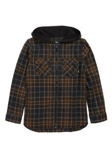 Vans Higgins Zip Flannel Shirt (Big Boys)