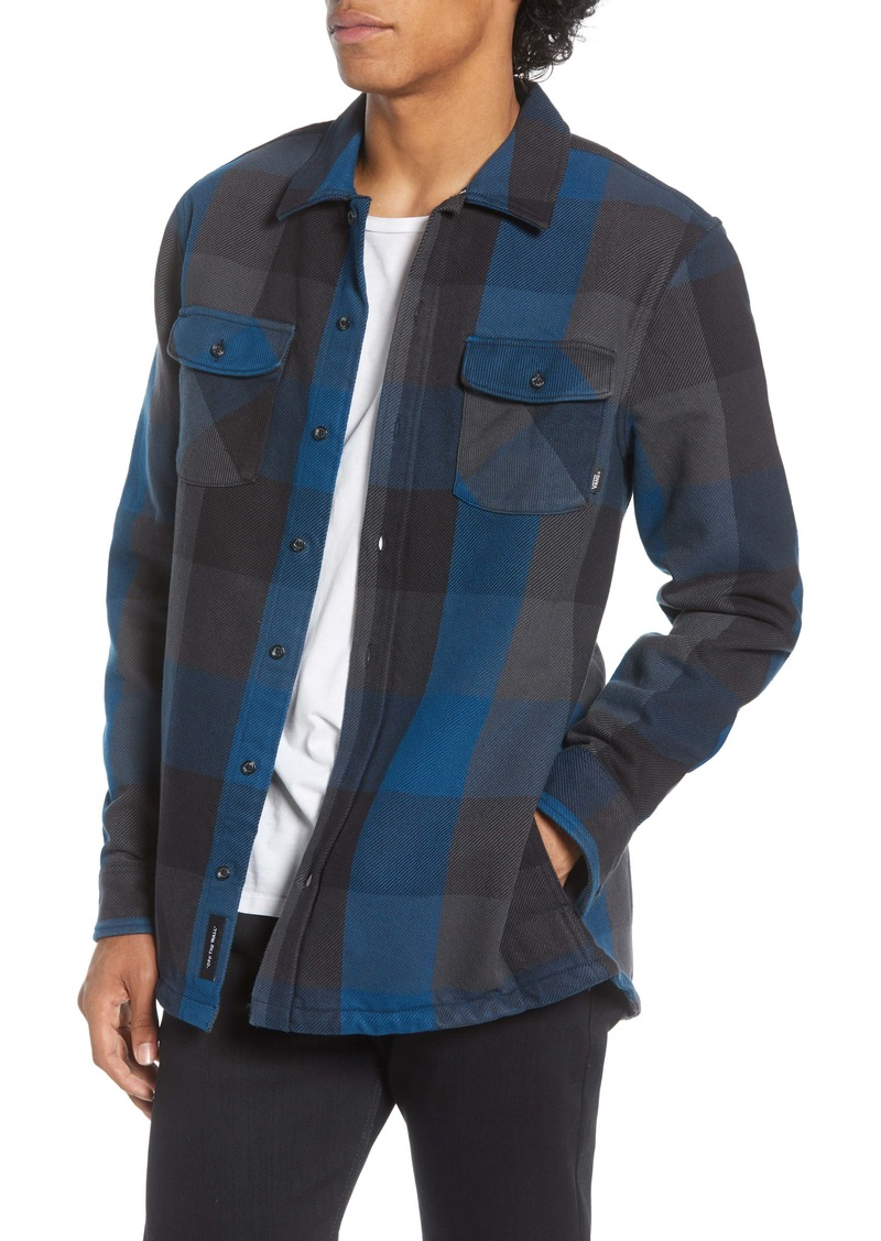 Vans Hixon IV Buffalo Plaid Button-Up Twill Shirt Jacket