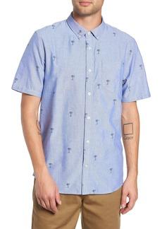 Vans Houser Palm Tree Woven Shirt