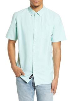 Vans Houser Short Sleeve Button-Down Oxford Shirt