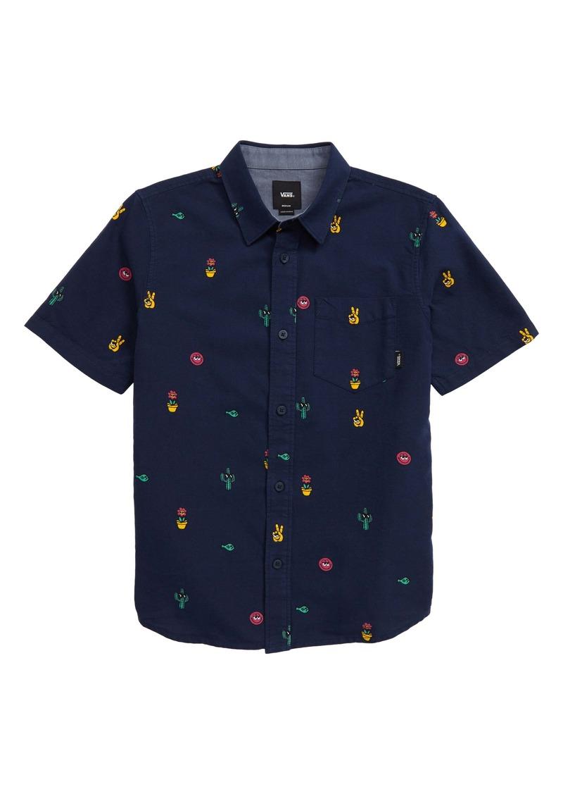Vans Houser Woven Shirt (Big Boys)