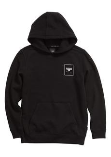 Vans Kids' Box Back Logo Hooded Sweatshirt (Big Boy)