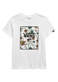 Vans Kids' Print Box Logo Graphic Tee (Big Boy)